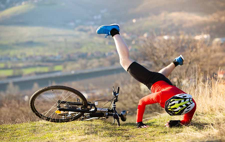 When should you replace your bike helmet accident